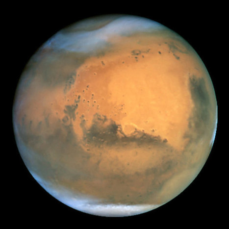 Solar Storms Obliterated Mars' Atmosphere - D-brief | A cielo abierto. | Scoop.it