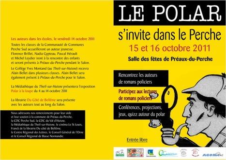 Le Polar s'invite dans le Perche - Médiathèque du Val d'Huisne   reVEILLE doc - NETeCLAIR   Scoop.it