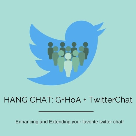 Corporate eLearning Strategies and Development: HangChat: Google Hangout on Air During a Twitter Chat | ID, E-learning & Social Media | Scoop.it