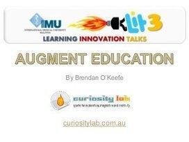 LIT 03 AUGMENT EDUCATION (Augmented Reality) | ... | Augmented Reality News and Trends | Scoop.it