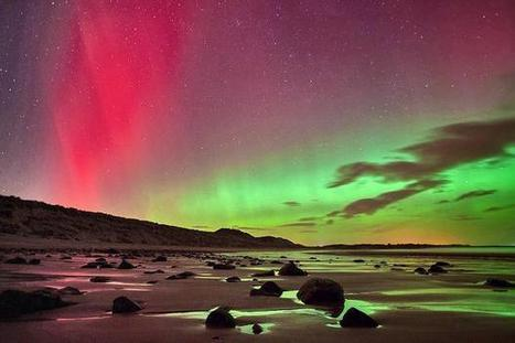 Britain in awe of rare northern lights | The Times | Aurora | Scoop.it