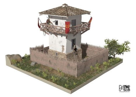 Reconstrucción virtual de una torre-atalaya romana | LVDVS CHIRONIS 3.0 | Scoop.it