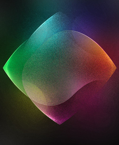 How To Create a Grainy Abstract Lines Poster Design | Photoshop Tutorials | Scoop.it