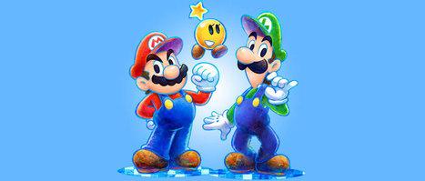No te pierdas este nuevo tráiler de Mario & Luigi: Dream Team - Atomix | Video anonimo | Scoop.it