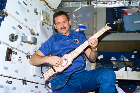 King of Space - Commander Chris Hadfield | Empowering Forward | Scoop.it