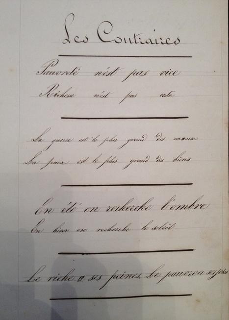 Le cahier de Nathalie | Nos Racines | Scoop.it