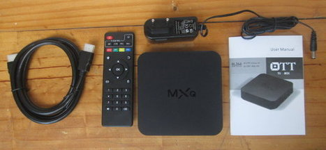 Unboxing of Eny EM6Q-MXQ Android TV Box Powered by Amlogic S805 Processor   Embedded Systems News   Scoop.it