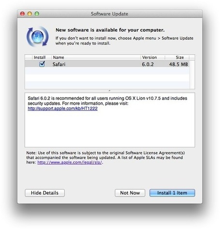Safari Update Fixes Security Flaws | Apple, Mac, iOS4, iPad, iPhone and (in)security... | Scoop.it
