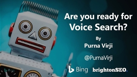 Are you Prepared for Voice Search? | Online Marketing Resources | Scoop.it