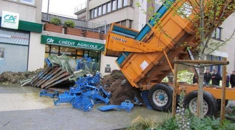Manif agricole. L'Etat ne paiera pas les dommages causés à Saint-Lô - Ouest France | Le Fil @gricole | Scoop.it
