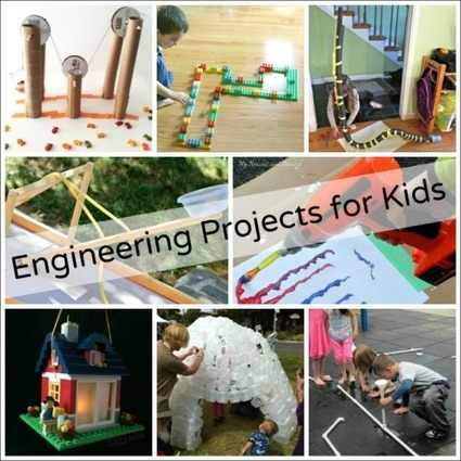 14 Catapults for Kids to Create and Experiment With - Fun-A-Day! | iPads, MakerEd and More  in Education | Scoop.it
