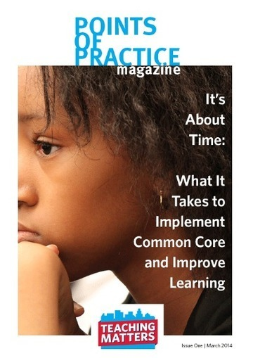 It's About Time: What It Takes to Implement Common Core and Improve Learning | EDCI280 | Scoop.it
