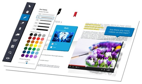 ActiveTextbook | Interactive Textbook Software from Evident Point | Ebook and Publishing | Scoop.it