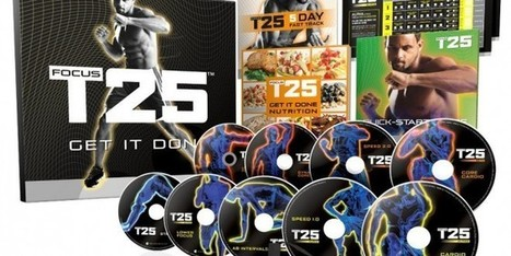 Shaun T's FOCUS T25 DVD Workout – Base Kit reviews | The best sharing | Scoop.it