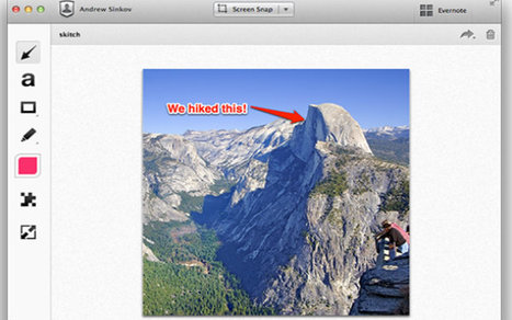 Evernote's Skitch App Is Now Available on the iPhone   M-Learning Apps   Scoop.it