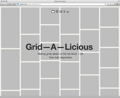 Grid-A-Licious now responsive | Responsive design & mobile first | Scoop.it