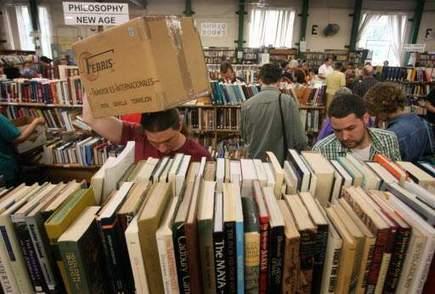 Annual book sale is underway | Florida News | Scoop.it