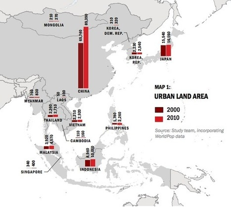 China Leads East Asia's Massive Urban Growth (5 charts)   Lorraine's  Changing Places (Nations)   Scoop.it