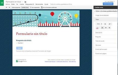 Google lleva los temas personalizados a los formularios de su servicio Google Forms | Documentos de Google | Scoop.it