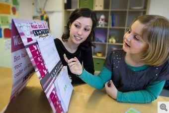 Kalender voor kinderen- gescheiden ouders- autisme | Waar ben ik kalender | Gezinsvormen | Scoop.it