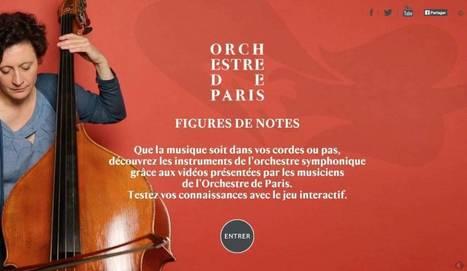 Figures de notes. A la découverte d'un orchestre philharmonique – Les Outils Tice | Les outils du Web 2.0 | Scoop.it