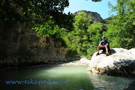 Nouveau Topo : Randonnée dans les gorges du Toulourenc (84) | Topo et fiche de randonnée à pied by eskapad | Scoop.it