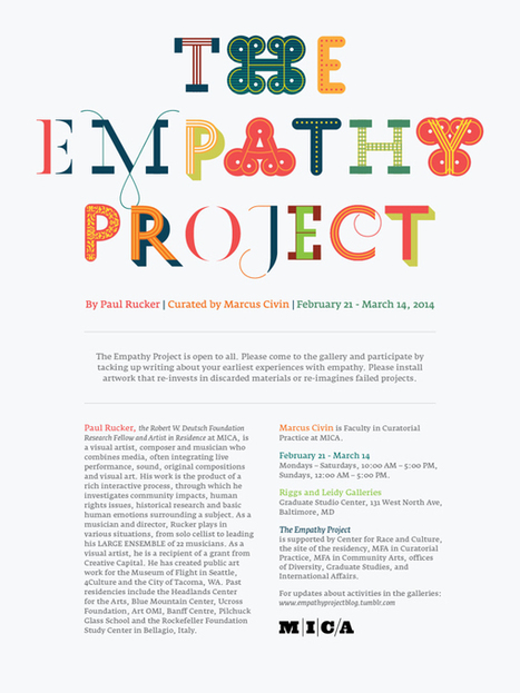 The Empathy Project on Typography Served | Empathy in the Arts | Scoop.it