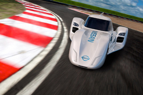 nissan unveils electric ZEOD race car for 2014 le mans #inspiredbydesign | its just interesting | Scoop.it