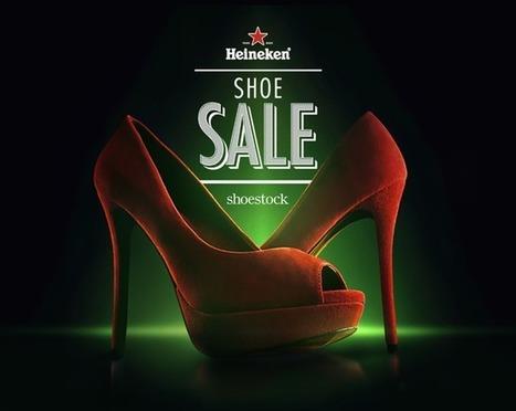 Heineken organise une vente de chaussures pour que les hommes regardent le foot en paix. | New Marketing | Scoop.it