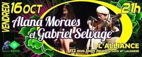 (98) Alana Moraes et Gabriel Selvage @ L'Alliance 112   KILUVU   Scoop.it