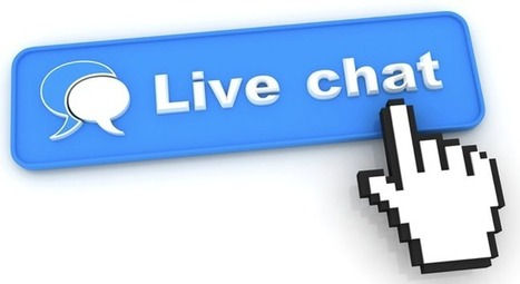 Live chat third most popular way to contact customer services, with only 7 ... - The Drum | Website chat | Scoop.it
