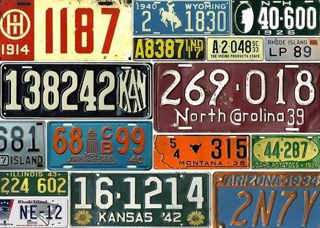 The Woeful Decline in American License Plate Design   art   Scoop.it