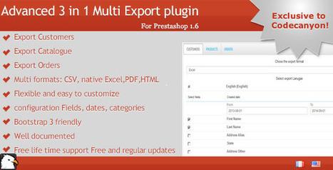 Prestashop Multi Exporter   Prestashop modules   Scoop.it