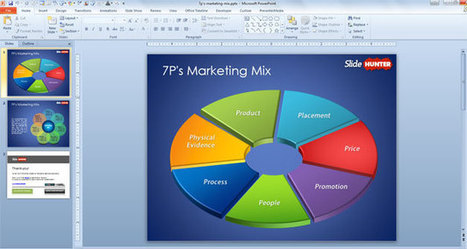 Free 7P Marketing Mix Template for PowerPoint | Free PowerPoint Templates 1 | Scoop.it