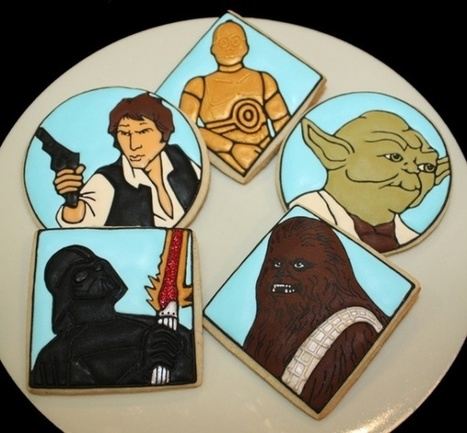 These Star Wars Sugar Cookies are Out of this Galaxy | Geek On | Scoop.it
