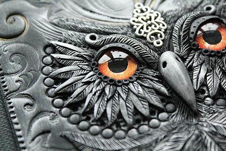 Cet artiste transforme de simples bouquins en de véritables grimoires tout droit sortis de contes de fées | Concept art, Painting & Illustration | Scoop.it