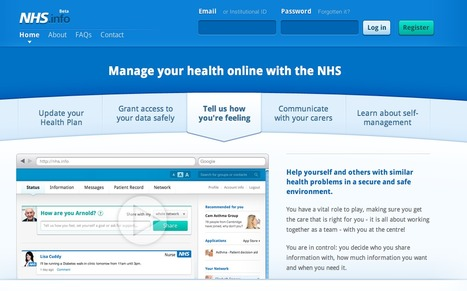 UK health service adopts startup's self-help site for patients | Health informatics and technology | Scoop.it