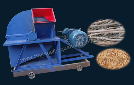 Wood Crusher Manufacturer, Professional Wood Chipping Equipment | charcoal briquette making | Scoop.it