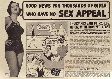 Vintage Weight Gain Ads | Diversity & Inclusion in Marketing & Communication | Scoop.it