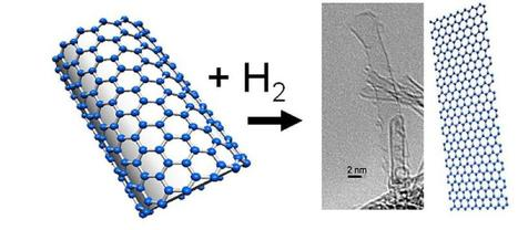 One-dimensional chemistry inside carbon nanotubes offers surprising wealth of new reactivity options | Chemistry | Scoop.it