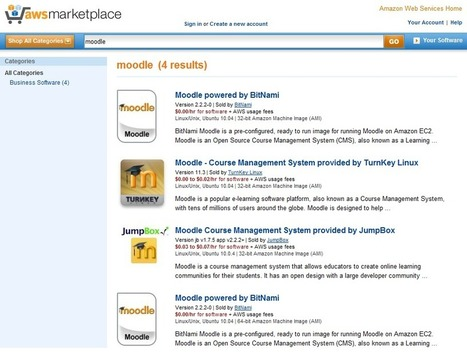 4 options for Moodle hosting on Amazon Web Services Marketplace | Moodle News | E-Learning and Online Teaching | Scoop.it