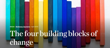 The four building blocks of change | McKinsey & Company | Writing about Life in the digital age | Scoop.it