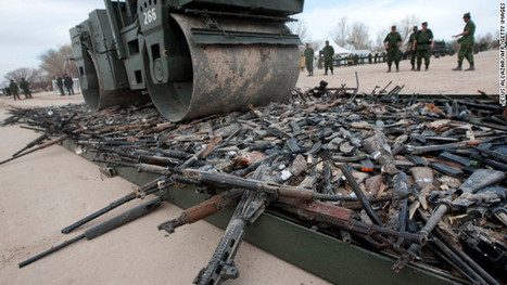 Mexico eyes U.S. gun policies, hopes for shift | News from the Spanish-speaking World | Scoop.it