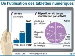 Vers 3 millions de tablettes vendues en France en 2012 (GfK) | Air du temps | Scoop.it