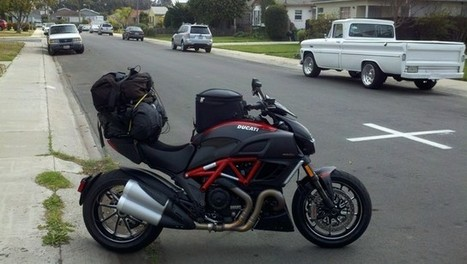 Billyb | Now that is how you pack a Diavel for a two week trip. | Ducati Community | Ductalk Ducati News | Scoop.it
