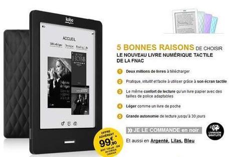 Kobo By Fnac : premières impressions   ACTU DES EBOOKS   Scoop.it