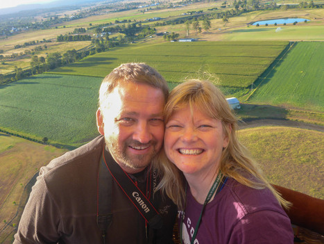 Flying High, A Hot Air Balloon Adventure on the Gold Coast | Tiki's Scoops | Scoop.it