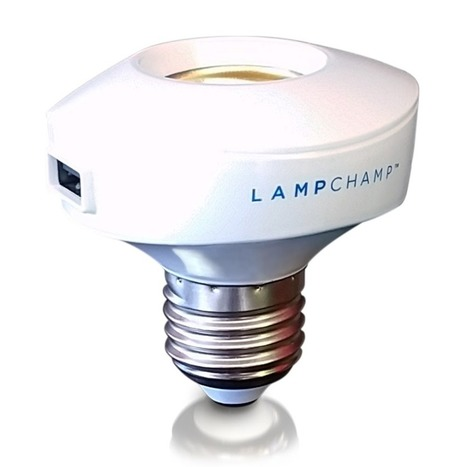 LampChamp - The USB Lamp Socket Charger & Adapter for Cell Phones $17.99 | Nerd Vittles Daily Dump | Scoop.it