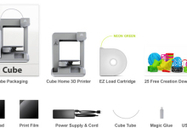 3D Systems' Cube 3D printer available for pre-order | 3D Trends | Scoop.it