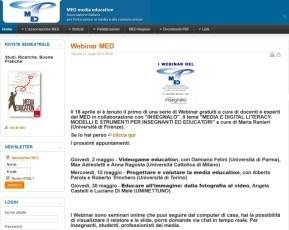 Home page del sito nazionale del MED   MEDIA EDUCATION   Scoop.it